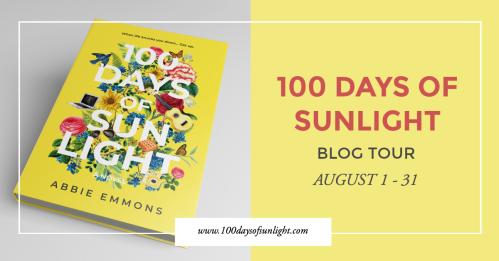 100 Days of Sunlight Blog Tour